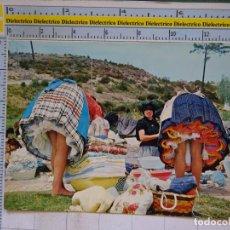Postales: POSTAL MUJERES LAVANDERAS EN NAZARÉ, PORTUGAL. 706. Lote 96076403
