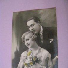 Postales: TARJETA POSTAL. PAREJA. ED. MARGARA, ESPAÑA. ESCRITA. 1938.. Lote 97085007