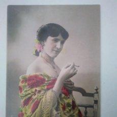 Postales: BONITA POSTAL COLOREADA DE LA GARDENIA. SIN CIRCULAR.. Lote 100721579