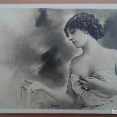 Postales: POSTAL FOTOGRAFICA ARTISTA CUPLETISTA LA BELLA OTERO EDIC FRANCESA REUTLINGER REVERSO SIN DIVIDIR. Lote 101880507