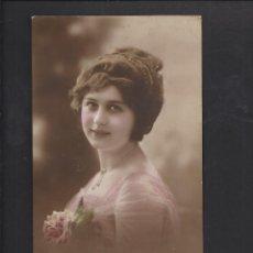 Postales: ANTIGUA POSTAL JOVEN, SEÑORITA, MUJER . CIRCULADA 1915. Lote 102051875