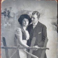 Postales: POSTAL GALANTEO. HOLANDESA. CIRCULADA CON SELLO. 1912.. Lote 103035363