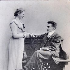 Postales: POSTAL GALANTEO. HOLANDESA. CIRCULADA CON SELLO. 1908.. Lote 103035599