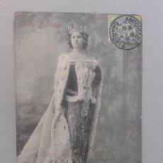 Postales: GILDA DARTHY. FRANQUEADA EL 21 DE NOVIEMBRE DE 1904.. Lote 103976859