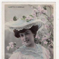 Postales: LUCETTE D´HORVILLY. FRANQUEADA EL 16 DE DICIEMBRE DE 1904.. Lote 105369495