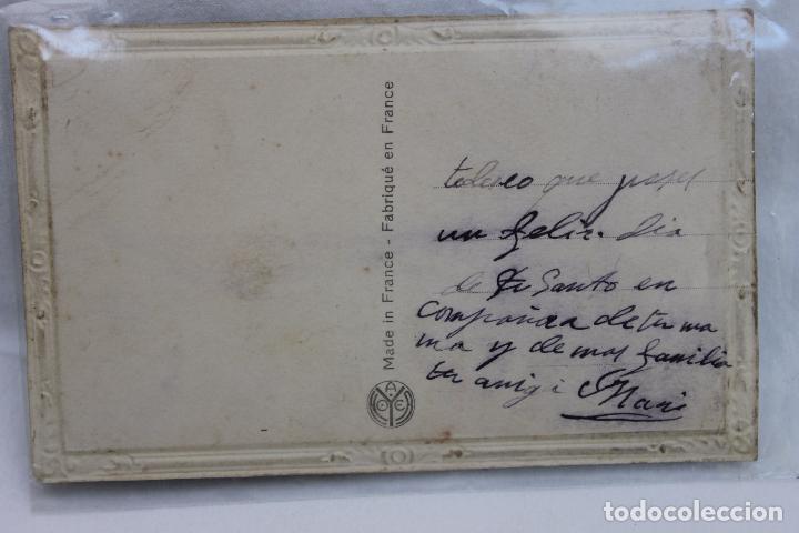 Postales: POSTAL ROMANTICA TROQUELADA MARCO DORADO. AÑOS 20 - Foto 3 - 106988051