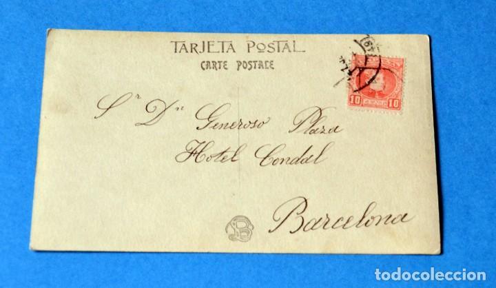 Postales: POSTAL ANTIGUA ORIGINAL DE LA ÉPOCA DE S.A. VICTORIA EUGENIA DE BATTENBERG - Foto 2 - 110677331