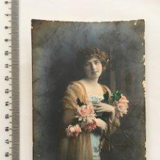 Postales: POSTAL ROMÁNTICA. JOVEN. R., H. 1915?. Lote 113058808