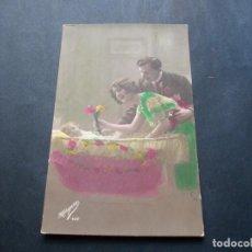 Postales: PRECIOSA POSTAL ROMANTICA ANTIGUA LA DE LAS FOTOS VER TODOS MIS LOTES DE POSTALES. Lote 113468243