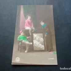 Postales: PRECIOSA POSTAL NIÑOS ANTIGUA LA DE LAS FOTOS VER TODOS MIS LOTES DE POSTALES. Lote 113469283