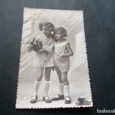 Postales: PRECIOSA POSTAL NIÑAS ANTIGUA LA DE LAS FOTOS VER TODOS MIS LOTES DE POSTALES. Lote 113469467
