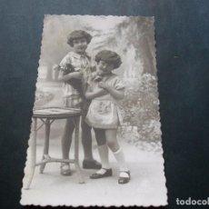 Postales: PRECIOSA POSTAL NIÑAS ANTIGUA LA DE LAS FOTOS VER TODOS MIS LOTES DE POSTALES. Lote 113469591