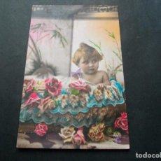 Postales: PRECIOSA POSTAL NIÑA ANTIGUA LA DE LAS FOTOS VER TODOS MIS LOTES DE POSTALES. Lote 113469755