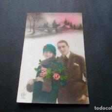 Postales: PRECIOSA POSTAL ROMANTICA ANTIGUA LA DE LAS FOTOS VER TODOS MIS LOTES DE POSTALES. Lote 113469931