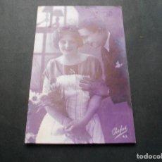 Postales: PRECIOSA POSTAL ROMANTICA ANTIGUA LA DE LAS FOTOS VER TODOS MIS LOTES DE POSTALES. Lote 113470091