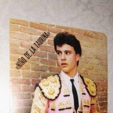 Postales: FOTO POSTAL TORERO NIÑO DE LA TAURINA. Lote 115501092