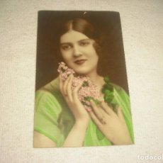 Postales: ANTIGUA POSTAL DE MUCHACHA, FRANCESA, ESCRITA 1931. Lote 116622459