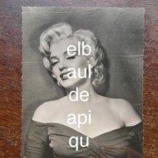 Postales: FOTO POSTAL DE MARILYN MONROE. 882 VEDETTE DE ARRET D'AUTOBUS. EDITIONS P.I.. Lote 235536765