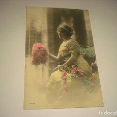 Postales: ANTIGUA POSTAL DE MUCHACHA , ED. FRISA , ESCRITA 1912. Lote 121420203