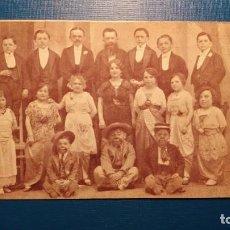 Postales: LILIPUTIENSES - TROUPE CIRCO - POSTAL ORIGINAL NUEVA - RARA PIEZA. Lote 121614007
