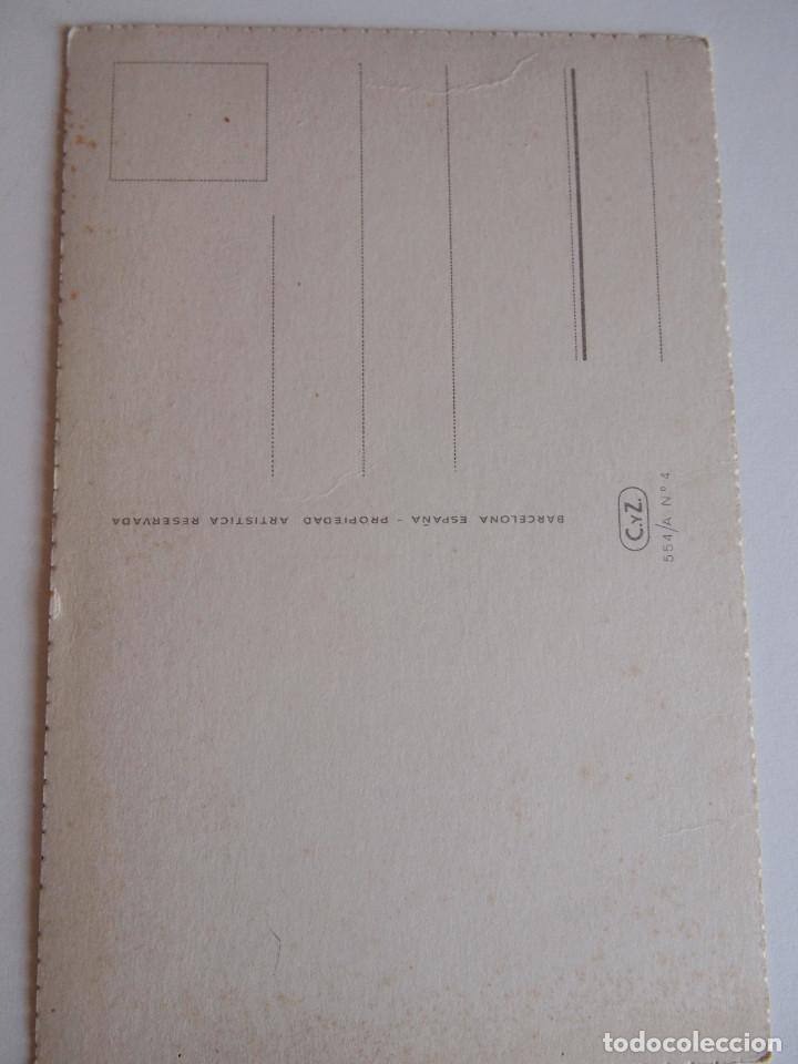 Postales: POSTAL ILUSTRADA POR Gisbert Soler, F.* Edc. C.y Z . serie 554-A nº 4 - Foto 2 - 123133527