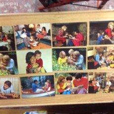 Postkarten - 12 POSTALES FAMILIA AÑOS 60 - 125938155