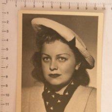 Postales: POSTAL CON FOTO DE ACTRIZ SOVIÉTICA TSELIKOVSKAYA. . Lote 127483463