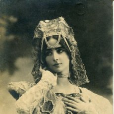 Postales: LA GRAN -CLÉO DE MERODE-1900-05 J.W.W. Nº 564-FOTOGRÁFICA-ART NOUVEAU- RARA. Lote 127667523