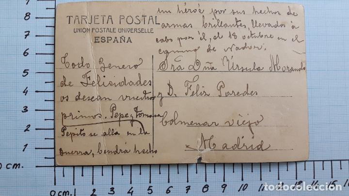 Postales: Postal Reina Victoria Eugenia. Colmenar Viejo. - Foto 2 - 128132895