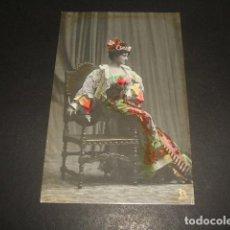Postales: MERCEDES P. DE VARGAS POSTAL ARTISTA CUPLETISTA ESPAÑOLA. Lote 128389419
