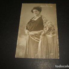 Cartes Postales: JOAQUINA PINO ARTISTA CUPLETISTA ESPAÑOLA POSTAL. Lote 128446855