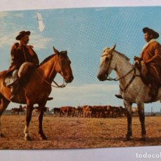 Postales: POSTAL - FOLKLORE ARGENTINA - GAUCHOS A CABALLO. Lote 128632991