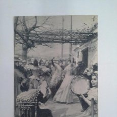 Postales: POSTAL SEVILLANAS. HAUSER Y MENET. DE BLANCO Y NEGRO REVISTA ILUSTRADA.. Lote 93823770