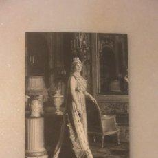 Postales: ANTIGUA FOTO POSTAL REINA VICTORIA EUGENIA ESPOSA DE ALFONSO XIII. Lote 131916294