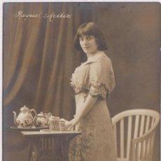 Postales: POSTAL - RAQUEL MELLER - FECHA A MANO 24-9-1912 (EBC). Lote 132463818