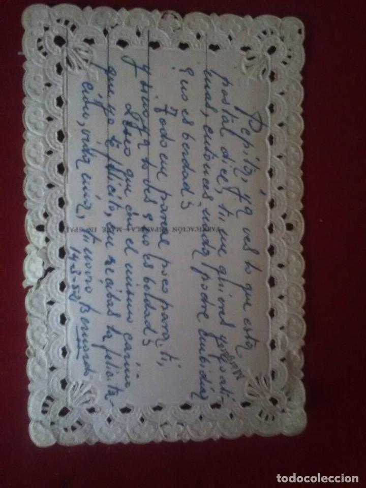 Postales: Bonita postal troquelada romantica - Foto 3 - 132830974