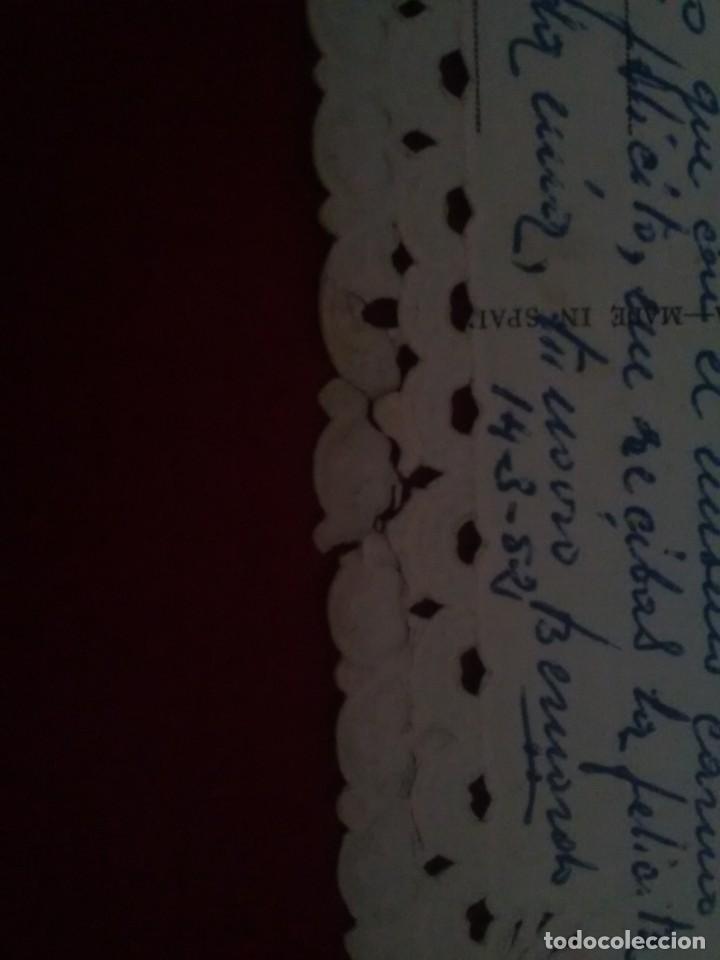 Postales: Bonita postal troquelada romantica - Foto 4 - 132830974