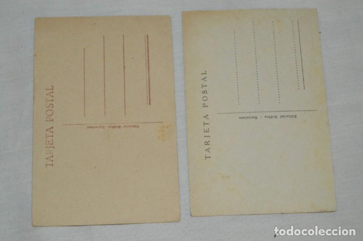 Postales: LOTE DE 5 POSTALES ANTIGUAS SIN CIRCULAR - ESTRELLAS DE CINE Y OTRAS - VINTAGE - ENVÍO 24H - Foto 3 - 133039138