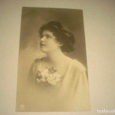 Postales: ANTIGUA POSTAL DE MUCHACHA, ESCRITA.. Lote 134776862