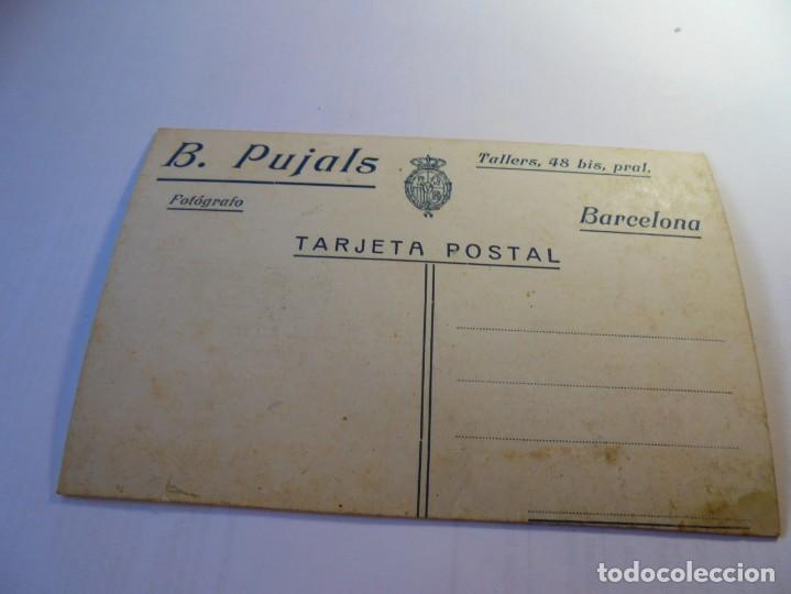 Postales: magnifica postal antigua sobre 1915 dama con manton de manila - Foto 2 - 135012926