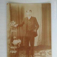 Postales: FOTOGRAFIA POSTAL, JOVEN POSANDO, ESCRITA AÑOS 20. Lote 135614098