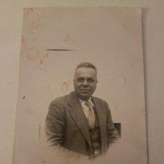 Postales: RETRATO DE HOMBRE AÑOS 20 POSTAL FOTOGRAFICA . Lote 135795418