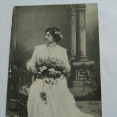 Postales: FOTO POSTAL UNIÓN UNIVERSAL DE CORREOS ALHAMA 1911. Lote 136741934