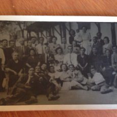 Postales: ANTIGUA POSTAL DE NUMEROSA FAMILIA. Lote 138644144