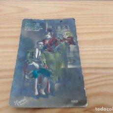 Postales: ANTIGUA FOTO POSTAL COLOREADA 1925. Lote 139476730