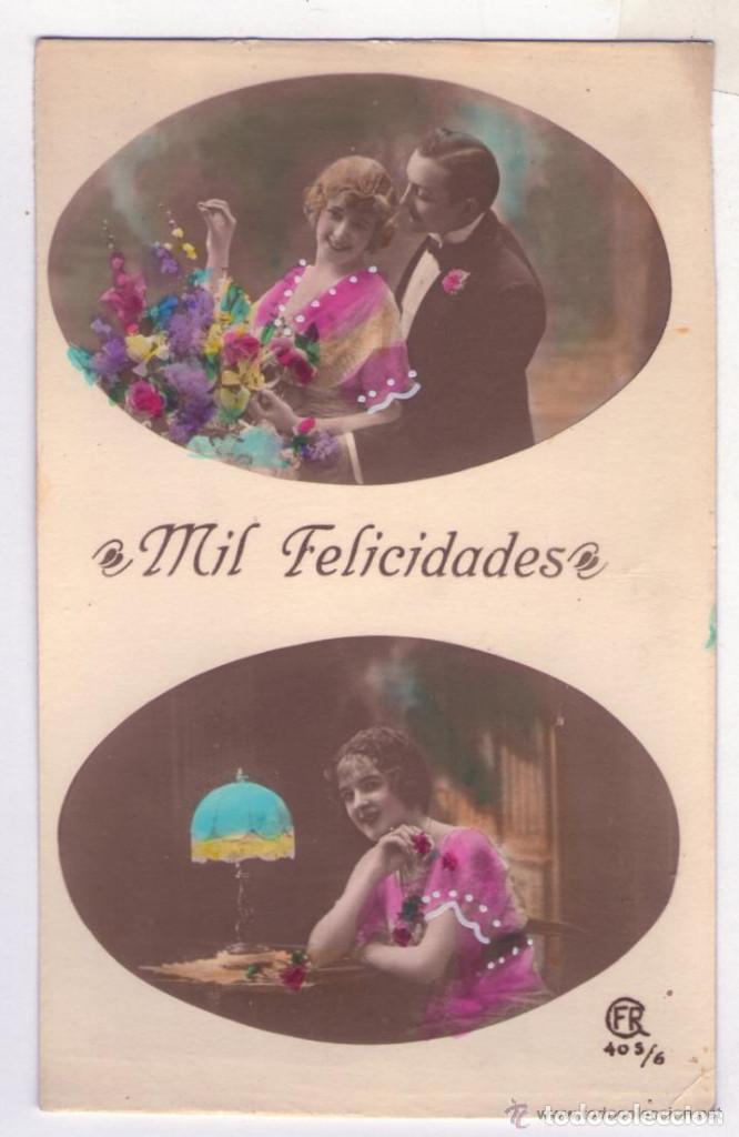 Postales: LOTE DE 18 POSTALES AÑOS 1910-1920 SIN CIRCULAR NI ESCRIBIR EN EXCELENTE ESTADO - Foto 2 - 140492198