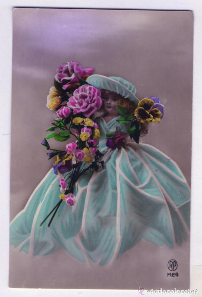 Postales: LOTE DE 18 POSTALES AÑOS 1910-1920 SIN CIRCULAR NI ESCRIBIR EN EXCELENTE ESTADO - Foto 9 - 140492198