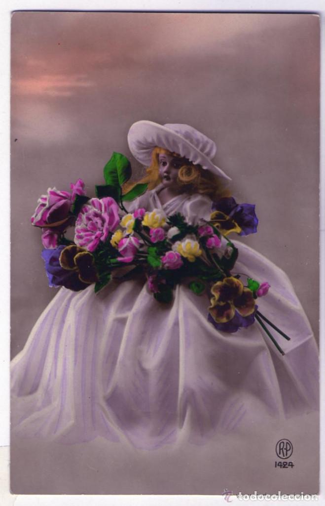 Postales: LOTE DE 18 POSTALES AÑOS 1910-1920 SIN CIRCULAR NI ESCRIBIR EN EXCELENTE ESTADO - Foto 17 - 140492198