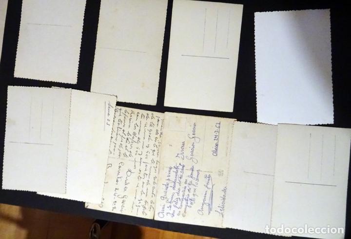 Postales: 45 antiguas postales de felicitación presentadas en una carpeta. Ver fotografías. - Foto 9 - 140505626