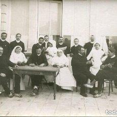 Postales: HOSPITAL- ENFERMERAS Y MÚSICOS-FOTOGRÁFICA. Lote 140561994